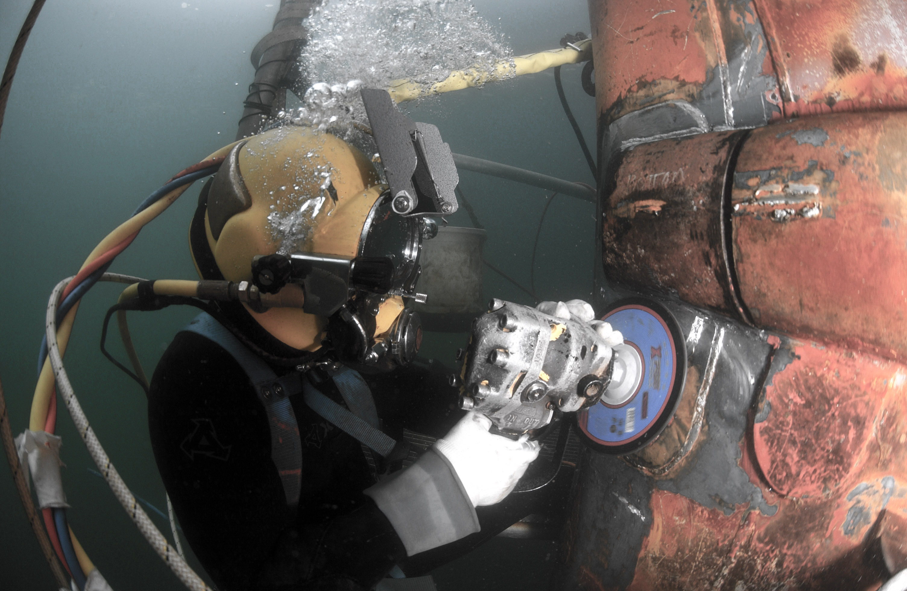 Working Diver